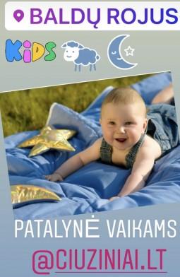 AKCIJA kūdikių pataynės komplektams -25%